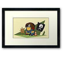 Captain Minion Framed Print