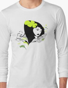 Womanly4 Long Sleeve T-Shirt