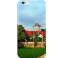 The pathway to Reichenau castle | architectural photography iPhone Case/Skin