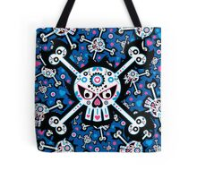 Mexican 'Day of the Dead' Skull Pattern Tote Bag