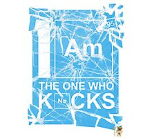 I AM THE ONE WHO KNOCKS! Photographic Print