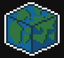 Pixel World White Line by PixelWorld