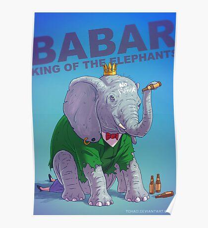 Babar Badass Poster
