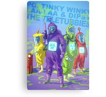 Teletubbies badass Metal Print