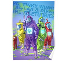 Teletubbies badass Poster