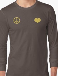 Peace and Love - Josuke Long Sleeve T-Shirt