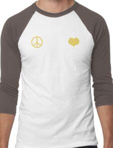 Peace and Love - Josuke Men's Baseball ¾ T-Shirt