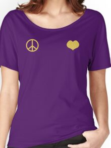 Peace and Love - Josuke Women's Relaxed Fit T-Shirt
