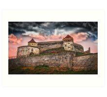 Fortress Rasnov Art Print