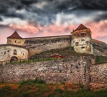 Fortress Rasnov by Dobromir Dobrinov