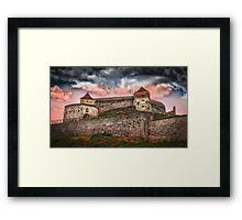 Fortress Rasnov Framed Print