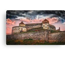 Fortress Rasnov Canvas Print
