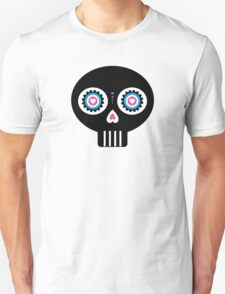 Mexican 'Day of the Dead' Skull Pattern Unisex T-Shirt