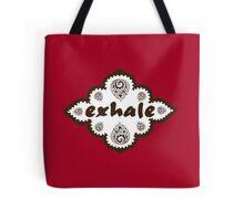 Henna Exhale Design Tote Bag