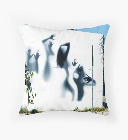 Wall Street Five Throw Pillow
