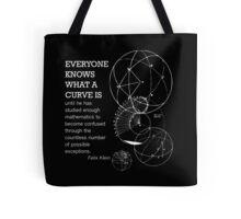 Math Quote Tote Bag