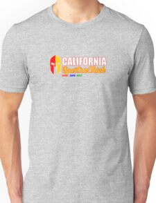 California Spartan Chick red/gold Unisex T-Shirt