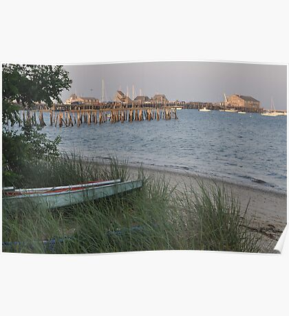 P Town harbor Poster