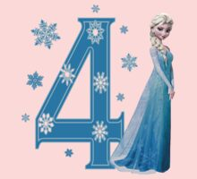Disney Frozen Elsa 4th Birthday by sweetsisters