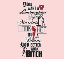 Lamborghini Martinis Hot Bikini Work Bitch Britney Spears by Thereal Appeal