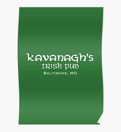 The Wire - Kavanagh's Irish Pub Poster