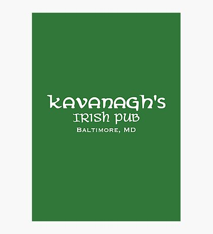 The Wire - Kavanagh's Irish Pub Photographic Print