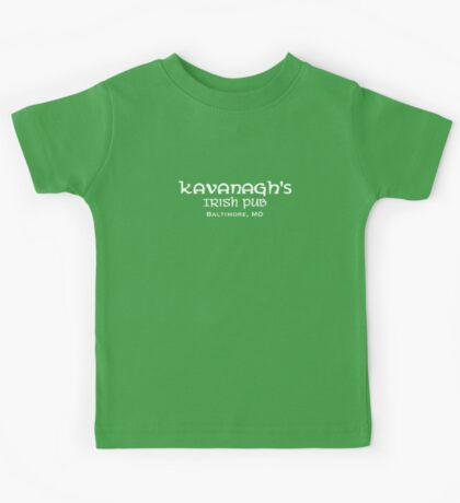 The Wire - Kavanagh's Irish Pub Kids Tee