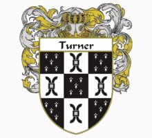 Turner Coat of Arms / Turner Family Crest by William Martin