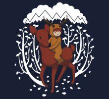 Deer Rider Baby Tee
