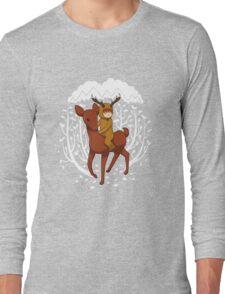 Deer Rider Long Sleeve T-Shirt