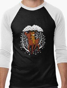 Deer Rider Men's Baseball ¾ T-Shirt