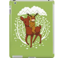Deer Rider iPad Case/Skin