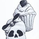 skull cupcake 1 by Perggals© - Stacey Turner