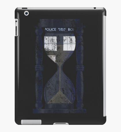 The Tardis Time Lord Timer iPad Case/Skin