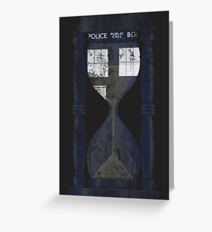 The Tardis Time Lord Timer Greeting Card