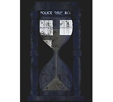The Tardis Time Lord Timer Photographic Print