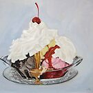 Ice-cream Sundae by Carole Russell