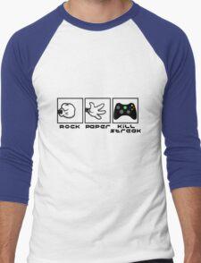 Rock, Paper- KILLSTREAK (Xbox) Men's Baseball ¾ T-Shirt