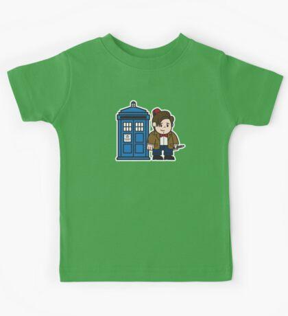 Mitesized 11th Doctor Kids Tee