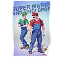 Mario Badass Poster