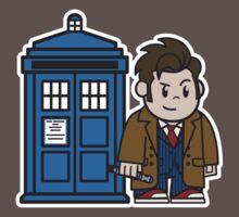 Mitesized 10th Doctor by Nemons