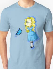 Alice and Butterfly T-Shirt