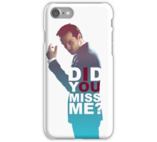Moriarty - Did you miss me? iPhone Case/Skin