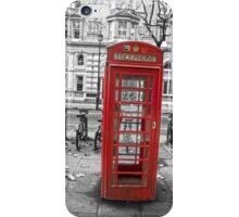 Red phone box, London iPhone Case/Skin