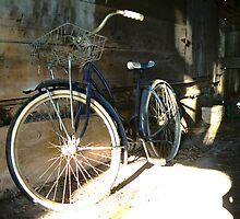 Bike Inside Grandpa's Old Barn by Emily Rose