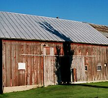 Grandpa's Old Barn from the front by Emily Rose