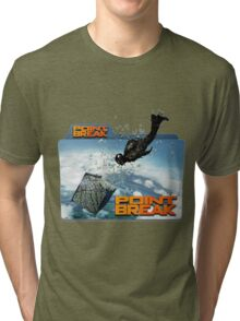 sky diving point break 2015 movie Tri-blend T-Shirt