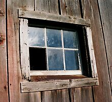 Barn Window by Emily Rose