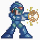 16-Bit Megaman Blaster by impulsiVdesigns