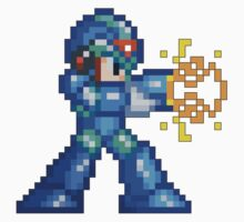 16-Bit Megaman Blaster by impulsiVdesigns